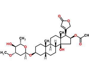 oleandrin a cardenolide glycoside
